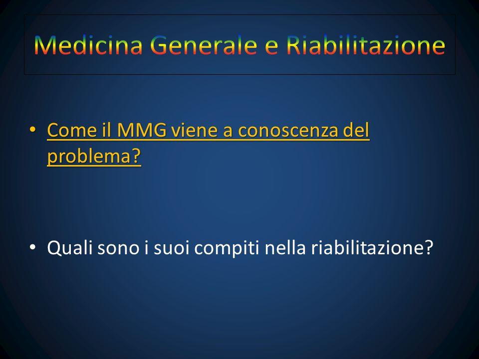 Medicina Generale e Riabilitazione