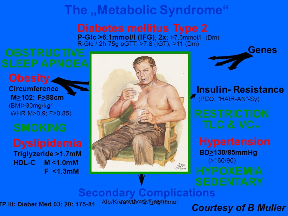 "The ""Metabolic Syndrome"