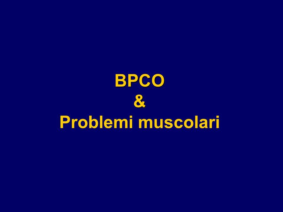 BPCO & Problemi muscolari
