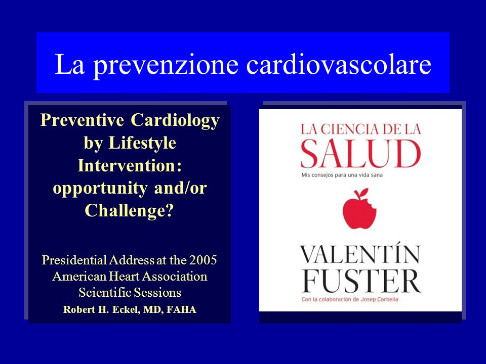 La prevenzione cardiovascolare