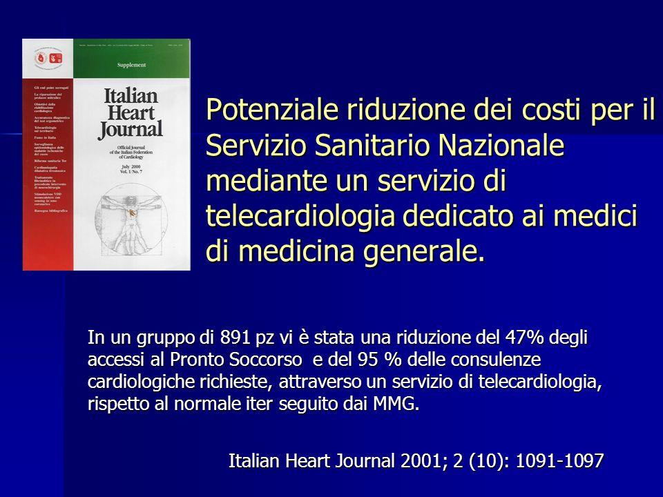Italian Heart Journal 2001; 2 (10): 1091-1097