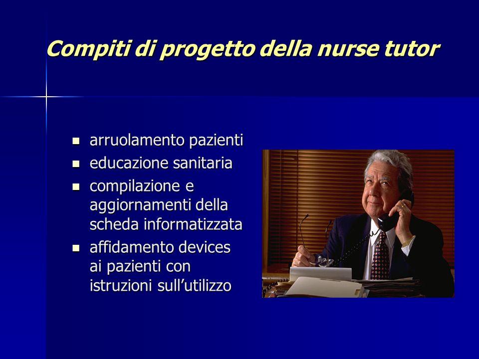 Compiti di progetto della nurse tutor