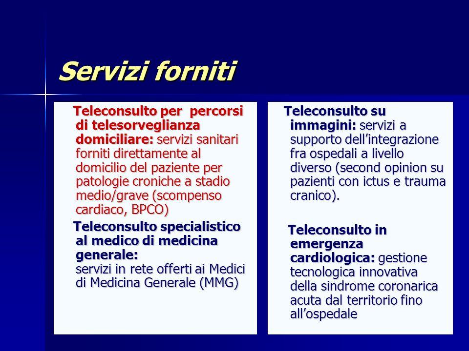 Meeting 14 novembre 2006Servizi forniti.