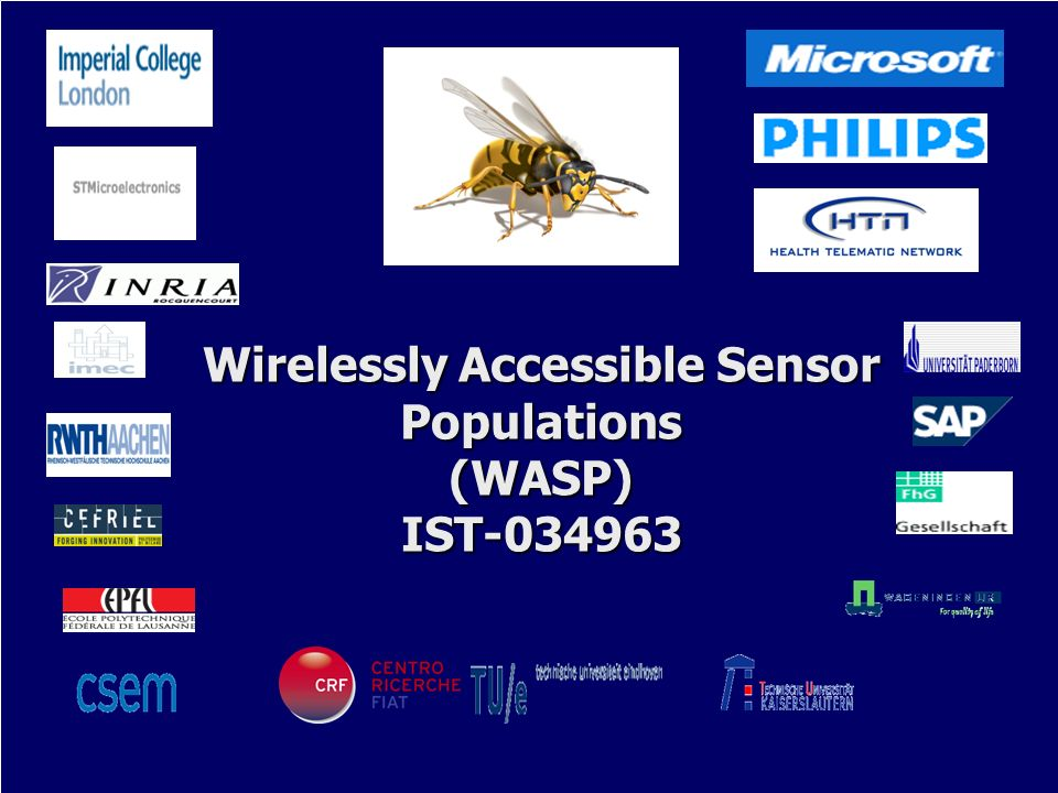Wirelessly Accessible Sensor Populations (WASP) IST-034963