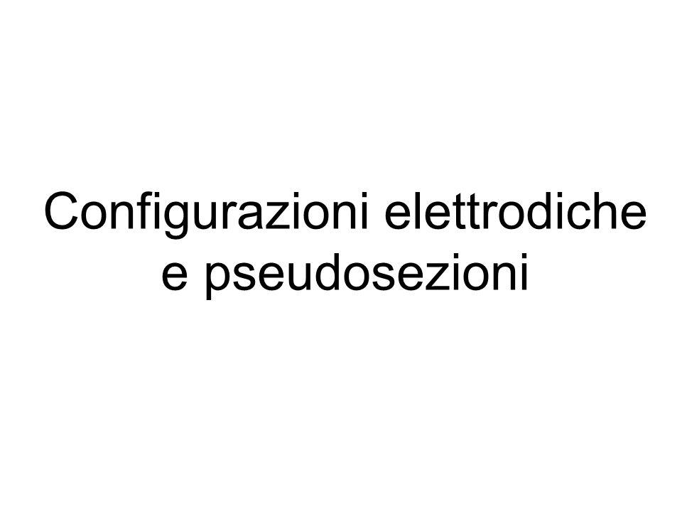 Configurazioni elettrodiche