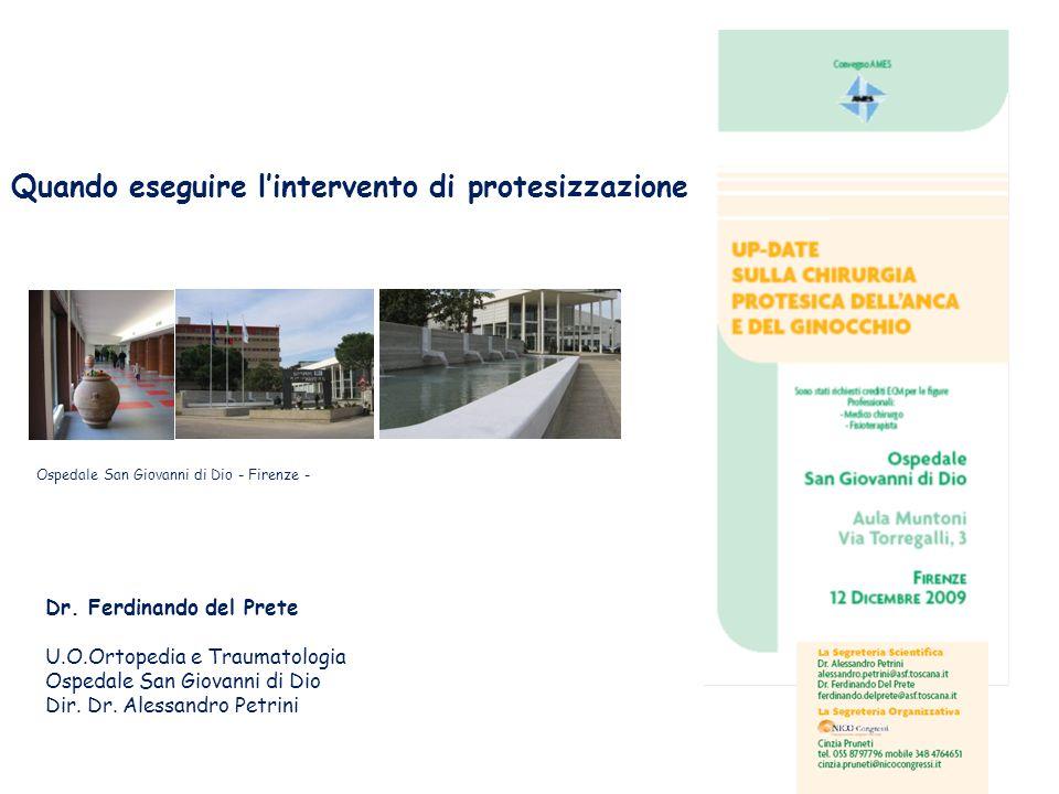 Ospedale San Giovanni di Dio - Firenze -