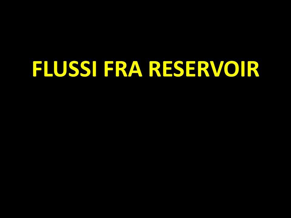 FLUSSI FRA RESERVOIR