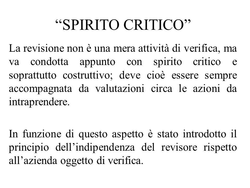 SPIRITO CRITICO