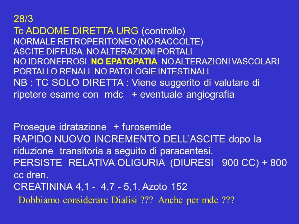 Tc ADDOME DIRETTA URG (controllo)