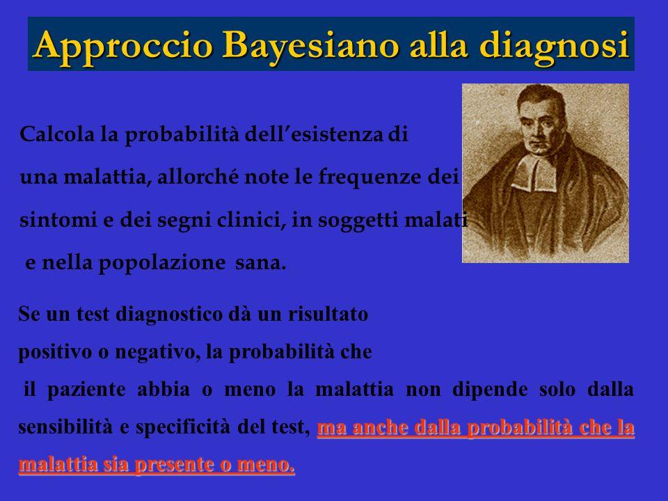 Approccio Bayesiano alla diagnosi