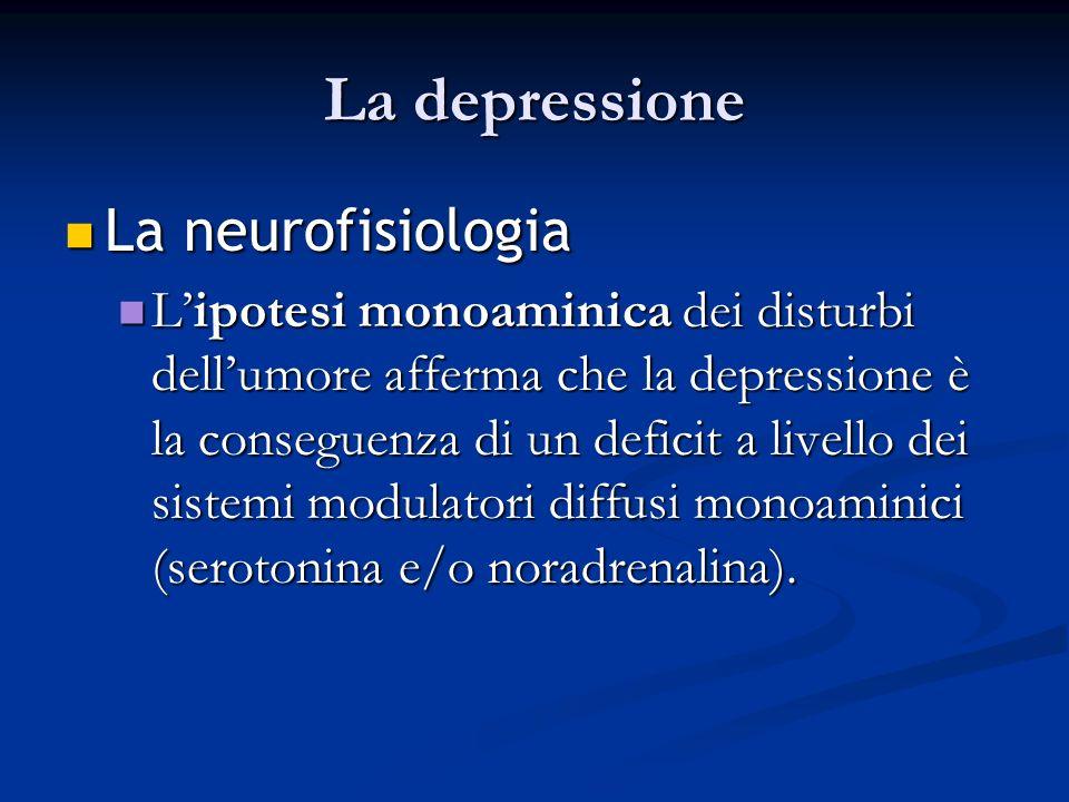 La depressione La neurofisiologia