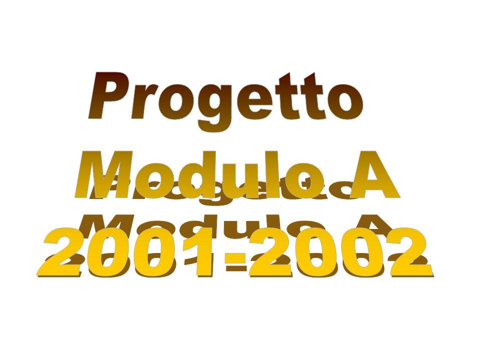 Progetto Modulo A 2001-2002
