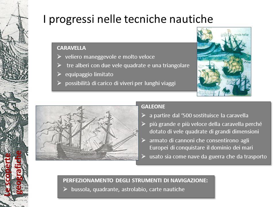 I progressi nelle tecniche nautiche