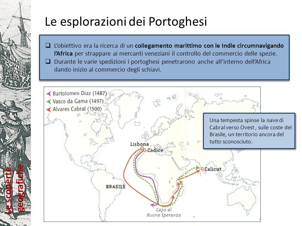 Le esplorazioni dei Portoghesi