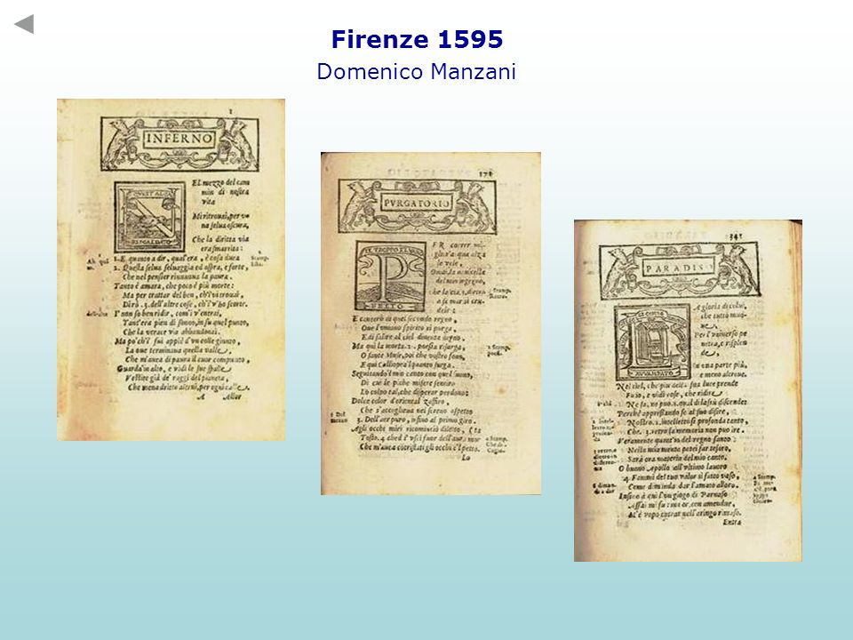 Firenze 1595 Domenico Manzani