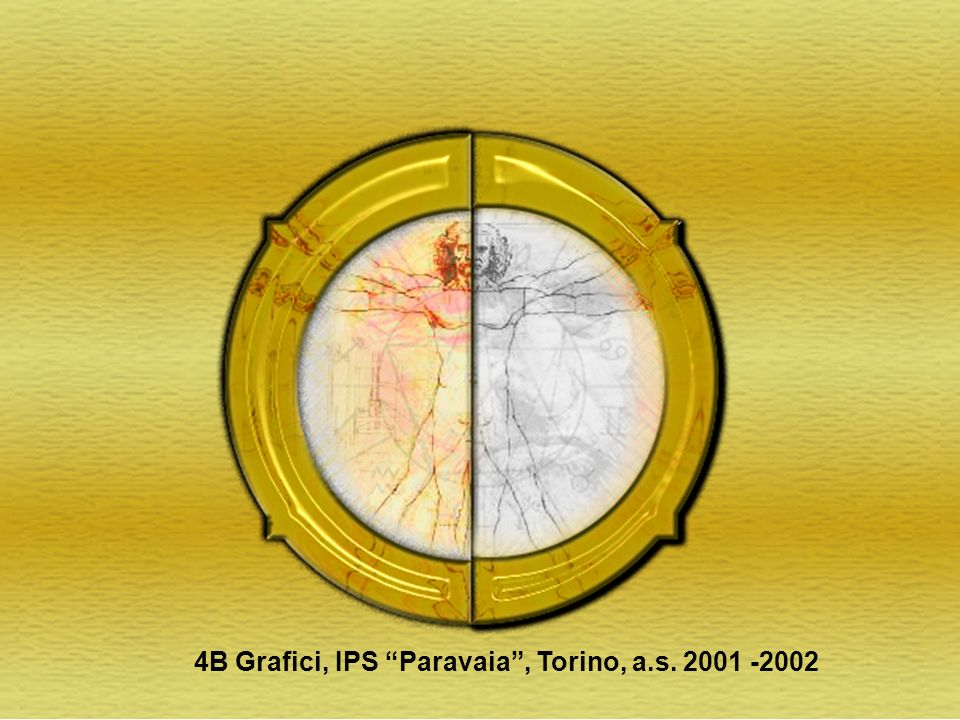 4B Grafici, IPS Paravaia , Torino, a.s. 2001 -2002