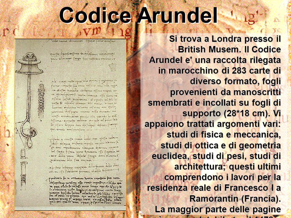Codice Arundel