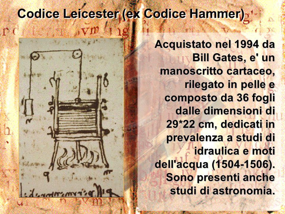 Codice Leicester (ex Codice Hammer)