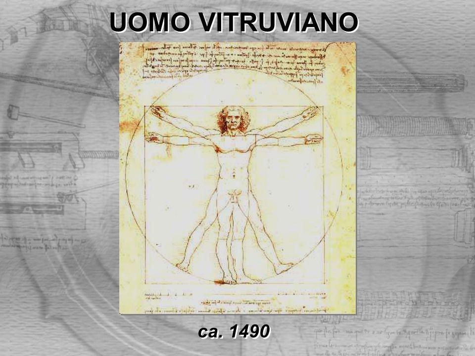 UOMO VITRUVIANO ca. 1490