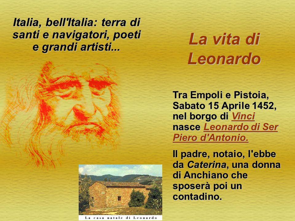 Italia, bell Italia: terra di santi e navigatori, poeti e grandi artisti...