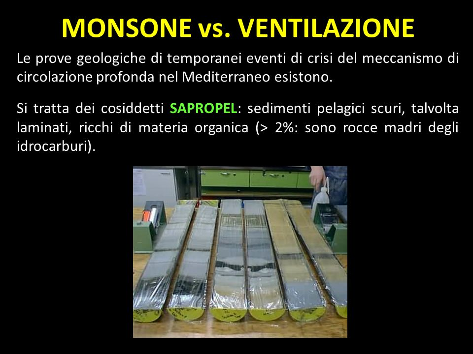 MONSONE vs. VENTILAZIONE