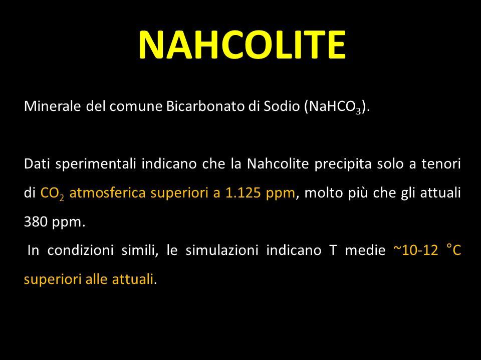 NAHCOLITE Minerale del comune Bicarbonato di Sodio (NaHCO3).