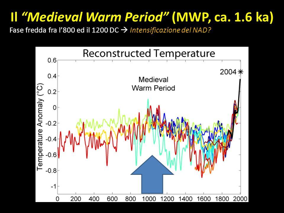 Il Medieval Warm Period (MWP, ca. 1.6 ka)