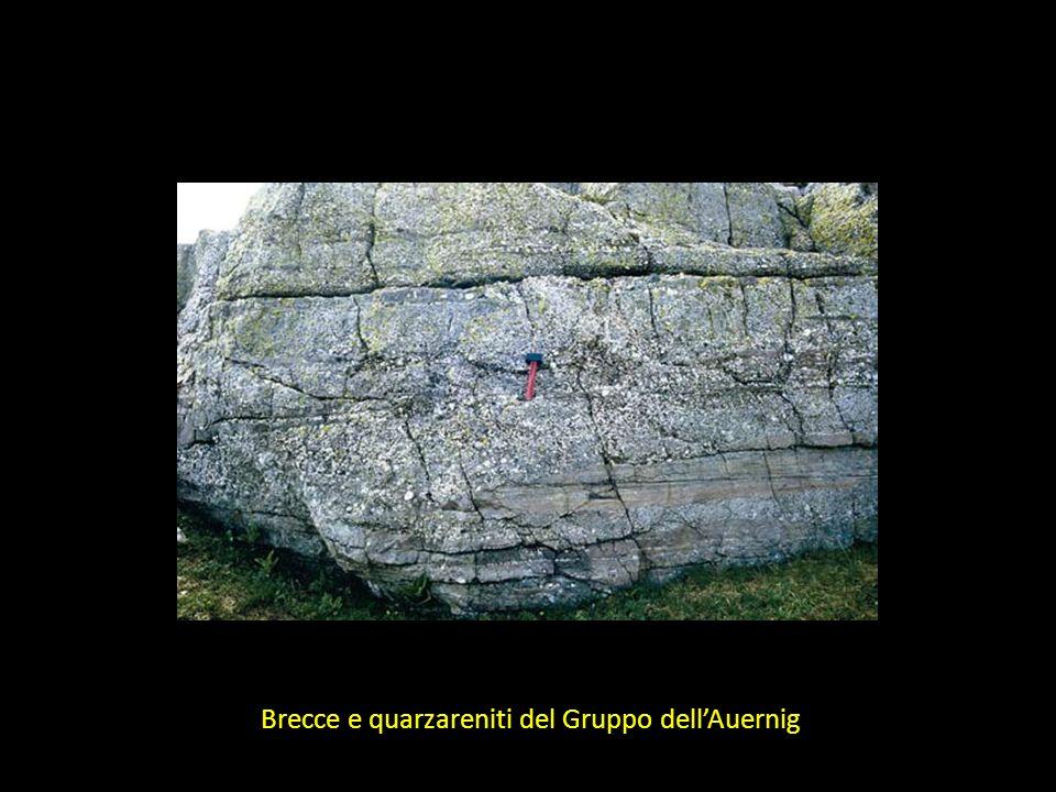 Brecce e quarzareniti del Gruppo dell'Auernig