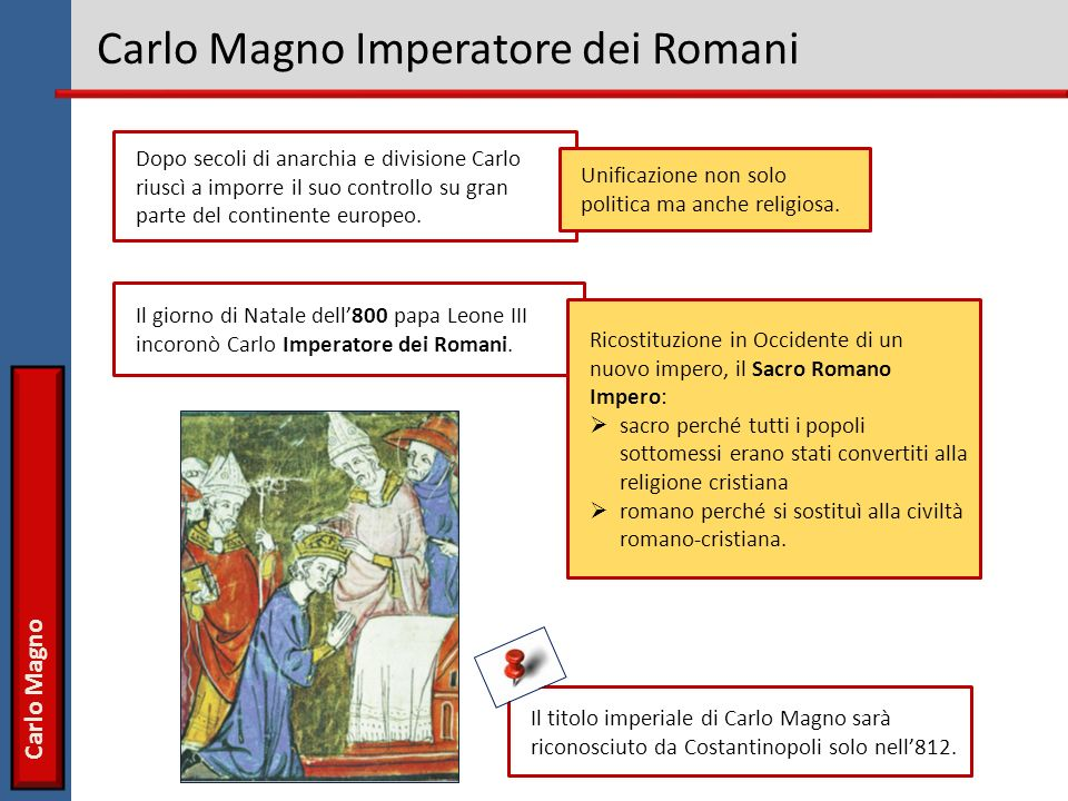 Carlo Magno Imperatore dei Romani