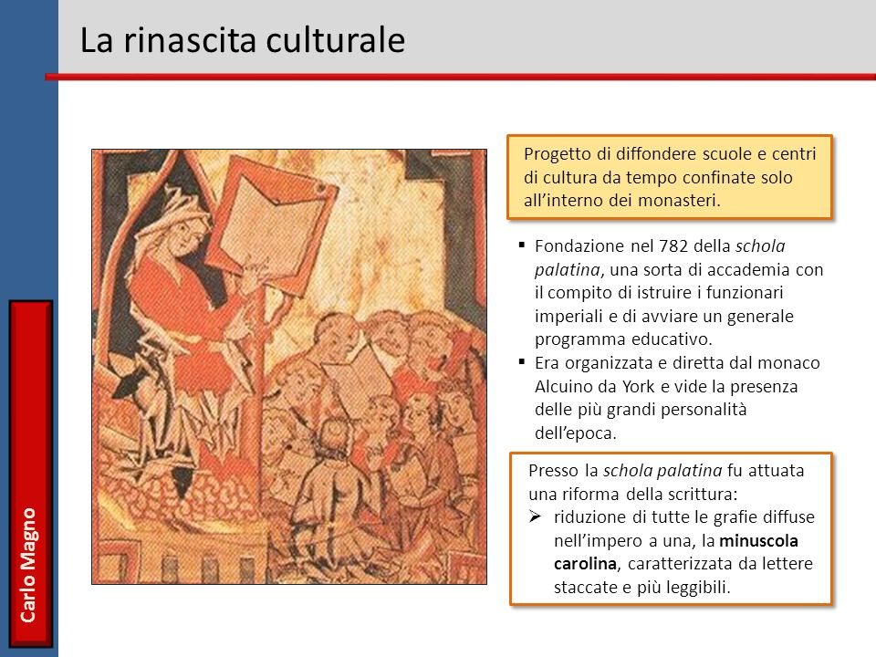 La rinascita culturale