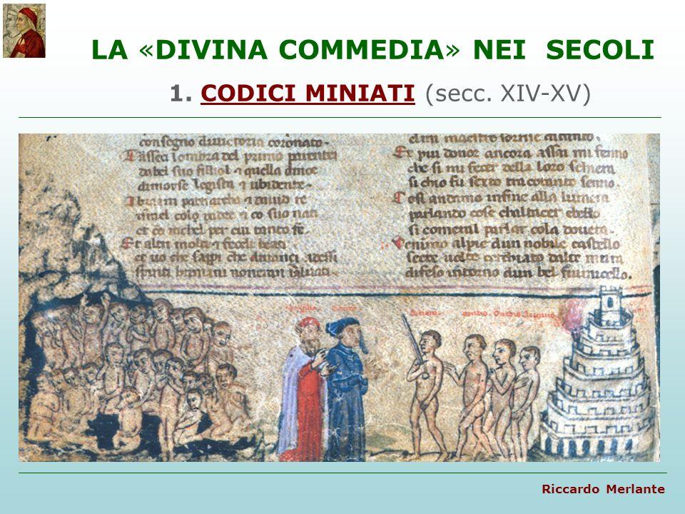 1. CODICI MINIATI (secc. XIV-XV)