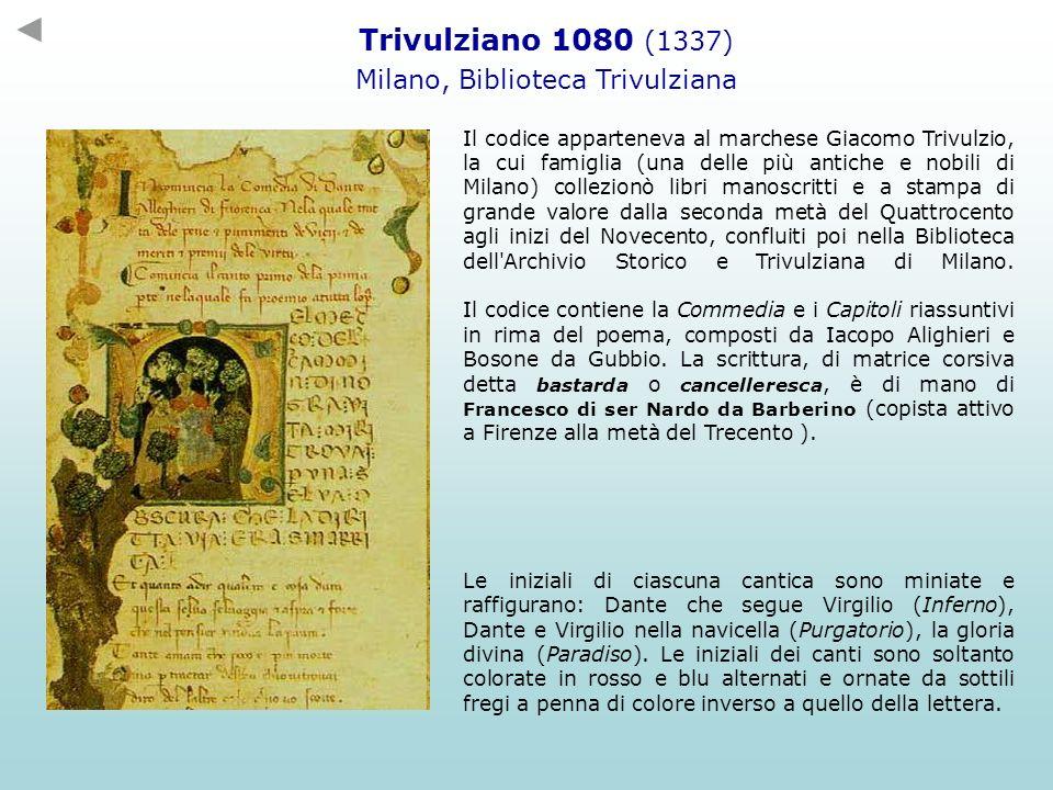 Milano, Biblioteca Trivulziana