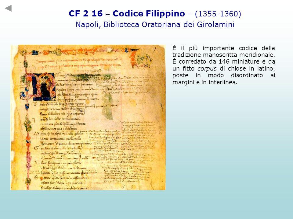 CF 2 16 – Codice Filippino – (1355-1360)