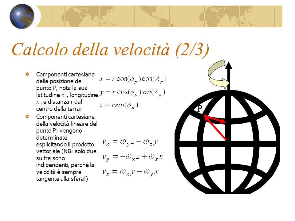 Calcolo della velocità (2/3)