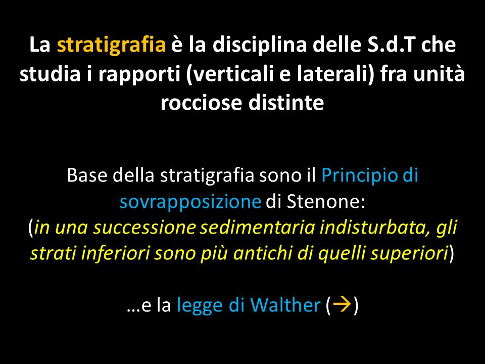 …e la legge di Walther ()