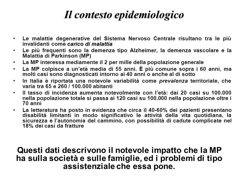 Il contesto epidemiologico