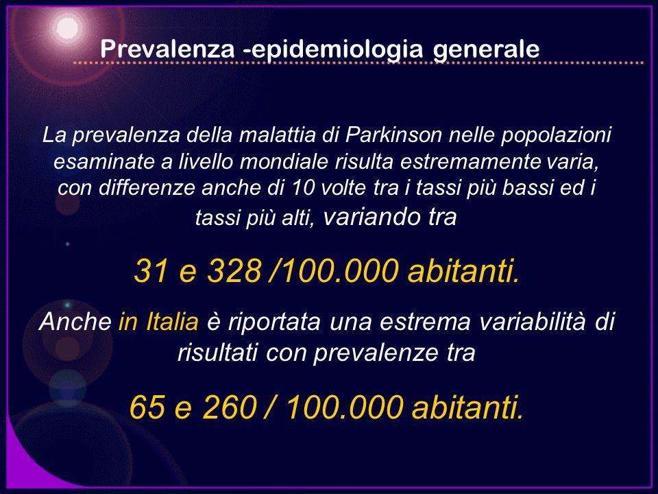 Prevalenza -epidemiologia generale