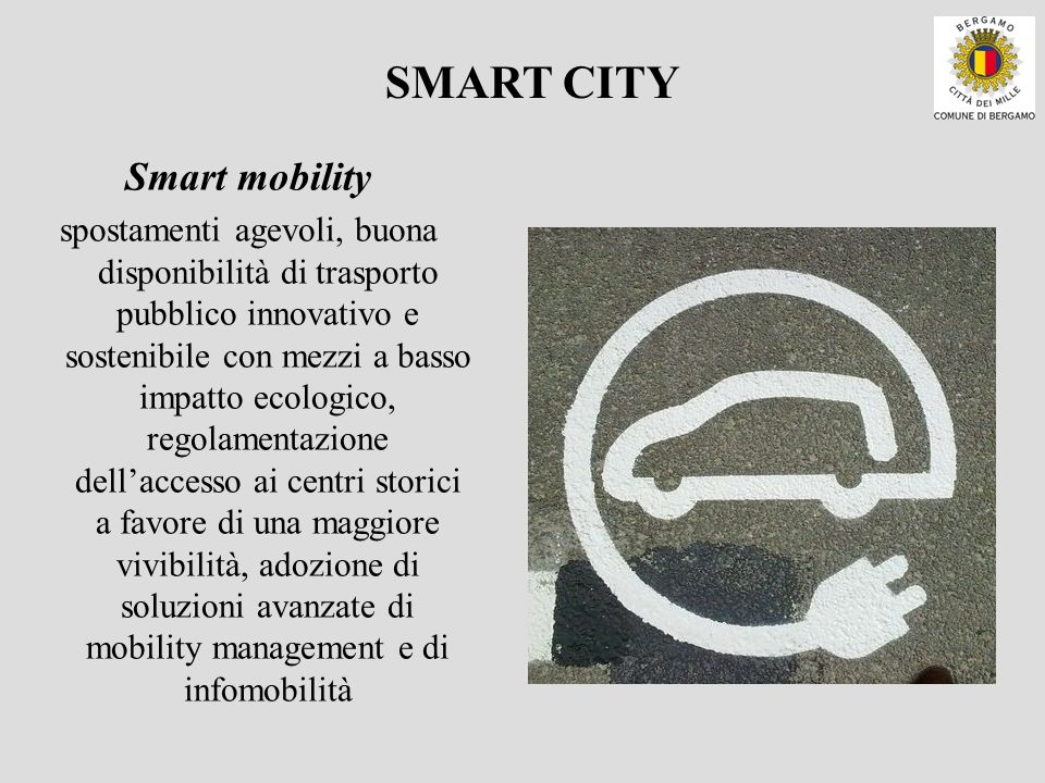 SMART CITY Smart mobility