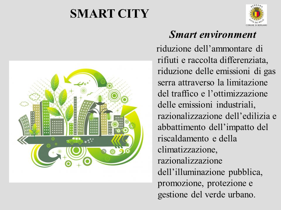 SMART CITY Smart environment