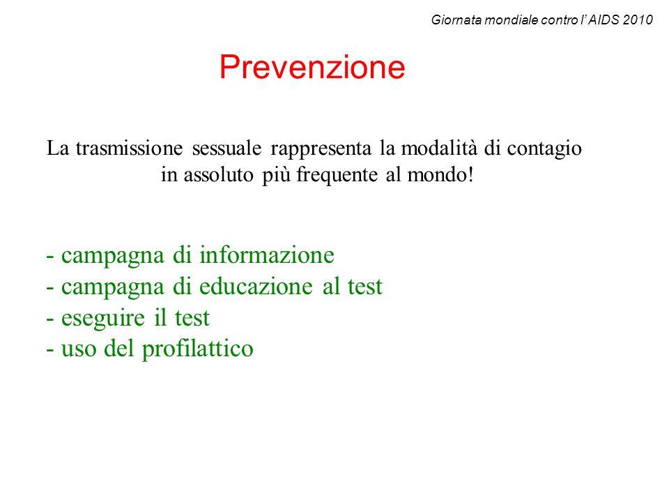 Prevenzione - campagna di informazione
