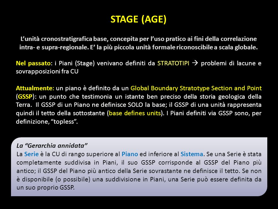 STAGE (AGE)