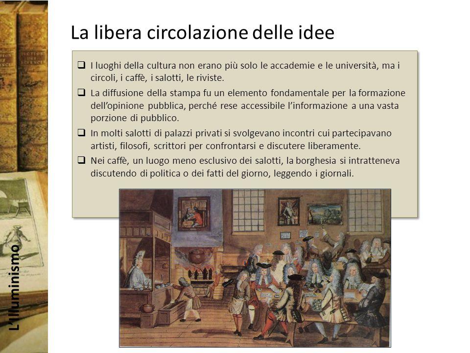 La libera circolazione delle idee