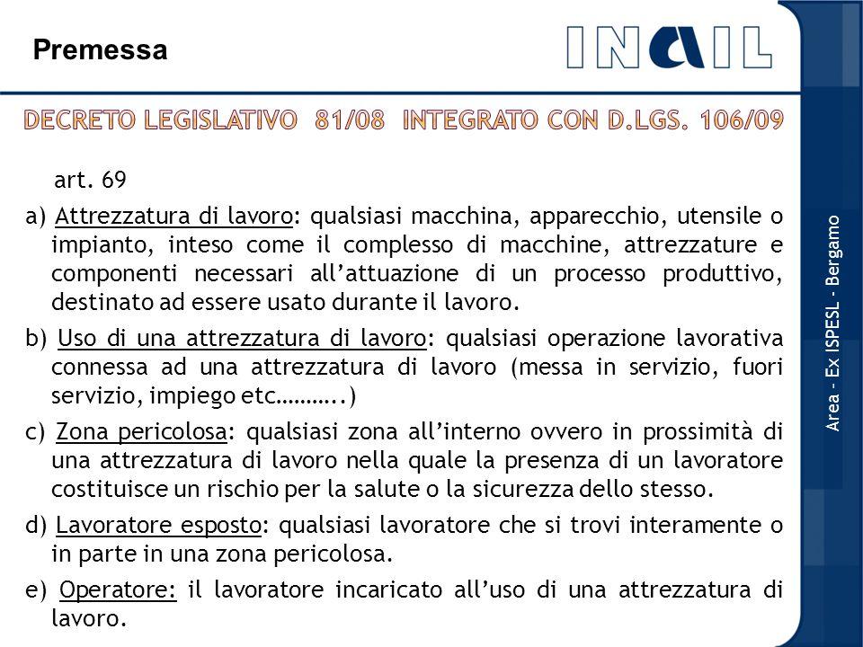 Decreto Legislativo 81/08 integrato con D.Lgs. 106/09