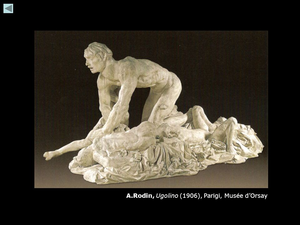 A.Rodin, Ugolino (1906), Parigi, Musée d'Orsay
