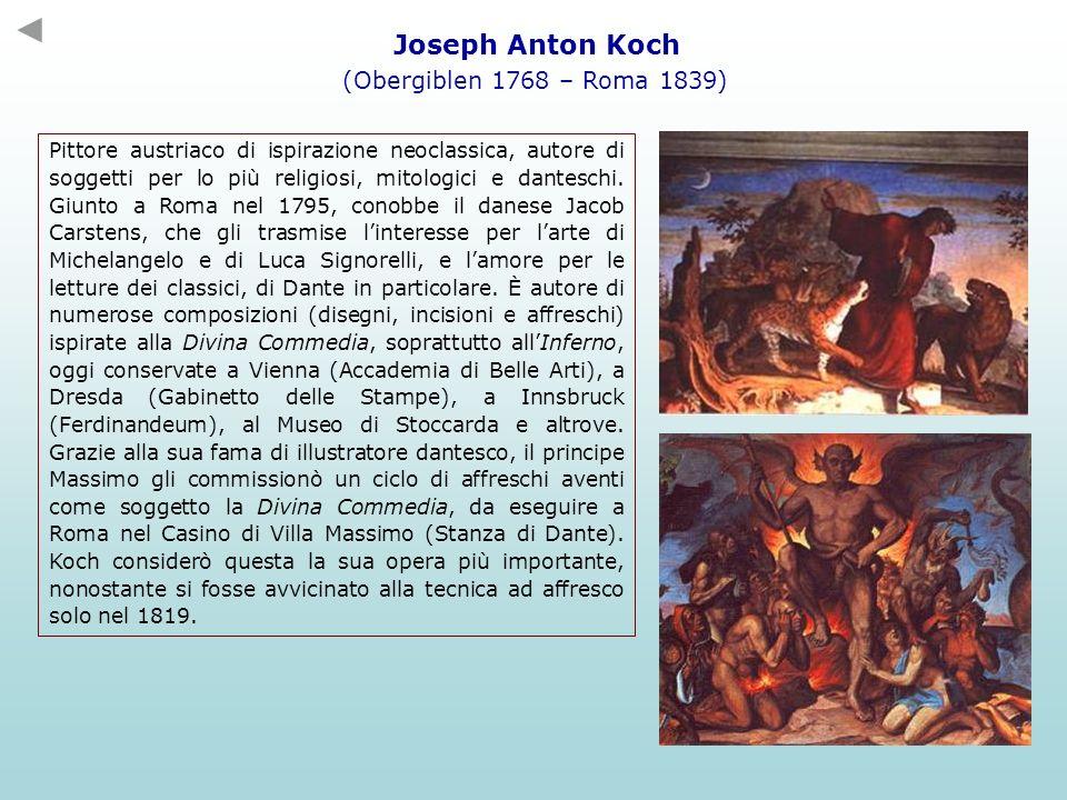 Joseph Anton Koch (Obergiblen 1768 – Roma 1839)