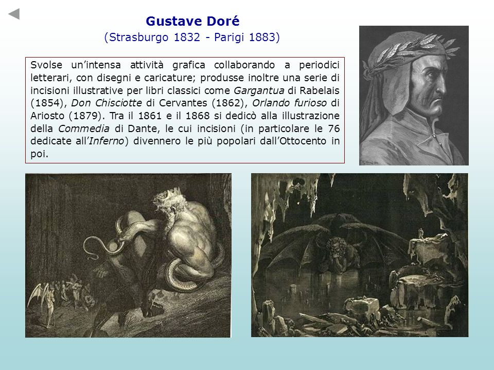 Gustave Doré (Strasburgo 1832 - Parigi 1883)