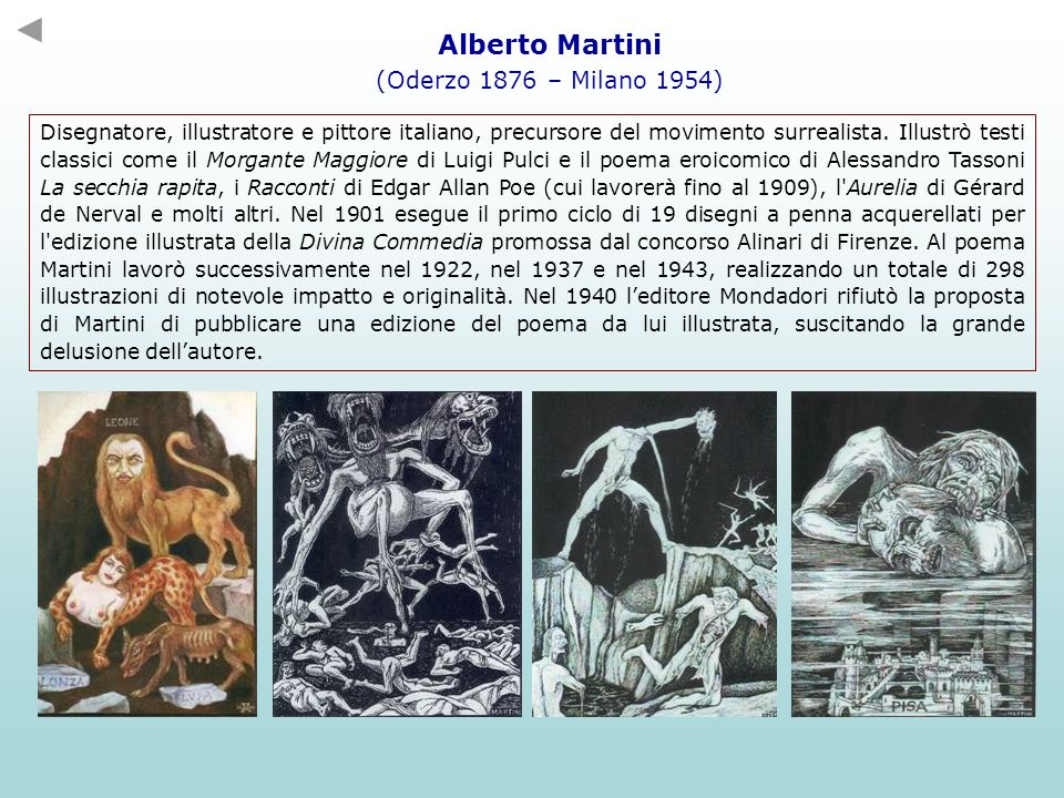 Alberto Martini (Oderzo 1876 – Milano 1954)
