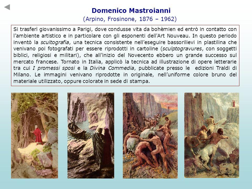 Domenico Mastroianni (Arpino, Frosinone, 1876 – 1962)