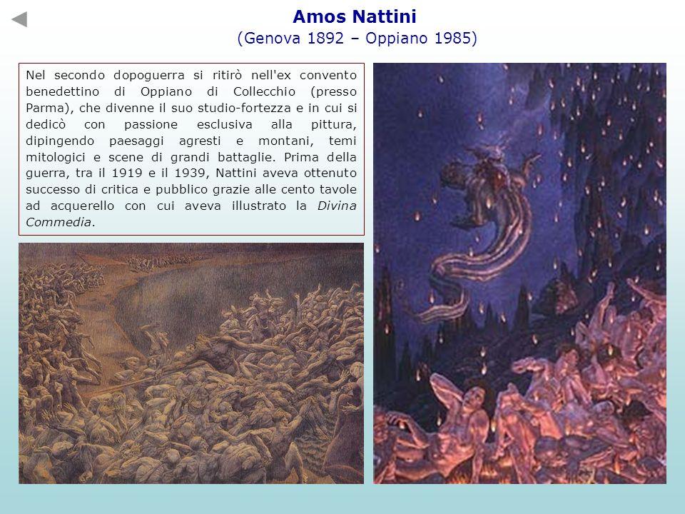Amos Nattini (Genova 1892 – Oppiano 1985)