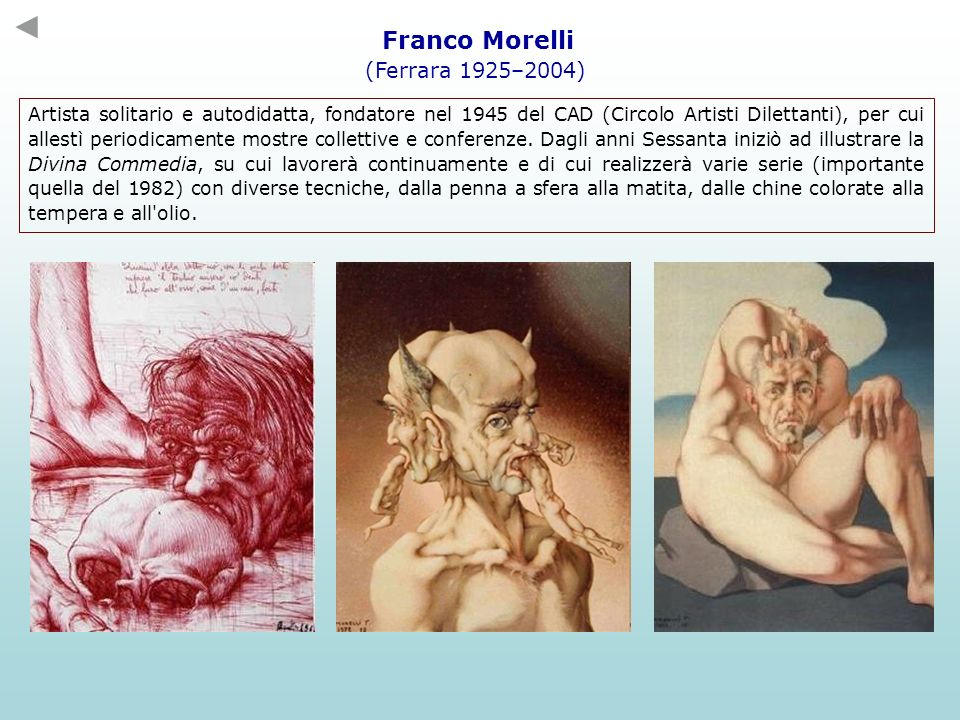 Franco Morelli (Ferrara 1925–2004)